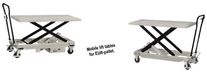 Mobile Static Table Lifts