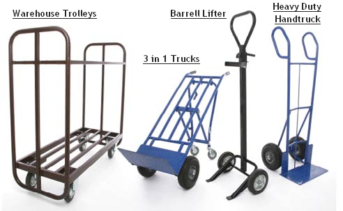 Warehouse Trolleys and Trucks